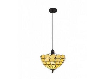 Suspension Tiffany Breeze 1 Ampoule Beige 6,5 Cm
