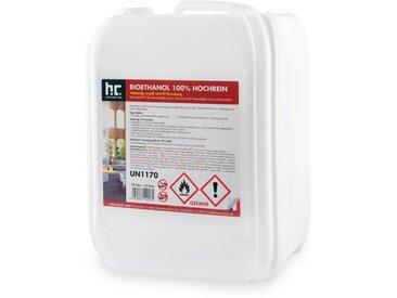 9 x 10 Litre Bioéthanol à 100 % dénaturé en bidon de 10 litres