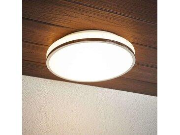 LED Plafonnier Salle De Bain 'Lyss' en verre pour salle de bain