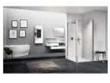 Porte de douche pivotante verre trempé - 1 ventail - 970 à 1010 mm - Young 2.0 1B - Novellini