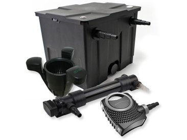 SunSun Kit de filtration de bassin 12000l 36W UVC 6. Stérilisateur NEO10000 80W Pompe Skimmer