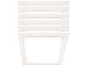 Ensemble de 6 panneaux de carrosserie à LED, 420 lumens, blanc neutre, VT -605 SQ