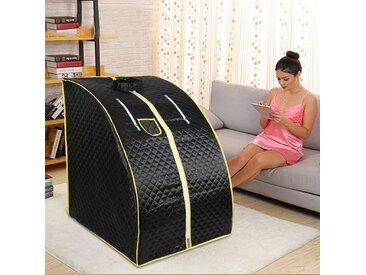 Portable Sauna Thérapeutique Vapeur Spa Chaise Maison Relax Noir