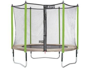 Trampoline de jardin 305 cm + filet de sécurité JUMPI ZEN 300