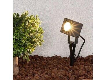 LED Lampe sur piquet 'Jiada' en aluminium