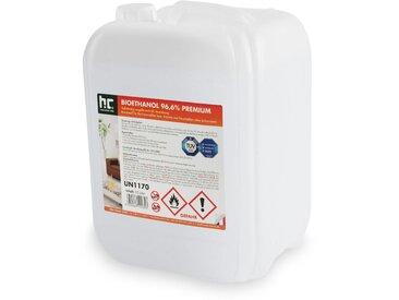 9 x 10 Litre Bioéthanol à 96,6 % dénaturé en bidon de 10 litres
