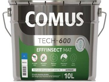 Peinture répulsive anti-insectes volants et rampants Comus Effi'Insect mat - Colorimix - 059-C - 10L - Agents actifs d'origine naturelle