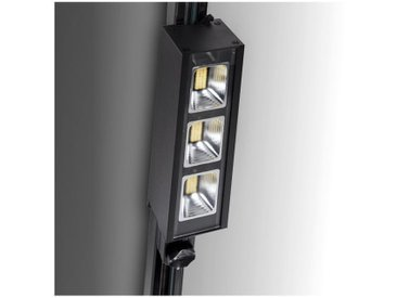 Spot LED Sur Rail 3 Phases Lineal 30W 3900Lm Epistar/Lumileds 50.000H | Blanc froid (AIM-BR-TR-30W-CW)