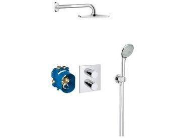 GROHE - Set de douche à encastrer Grohtherm 3000 Cosmopolitan - Rainshower 210