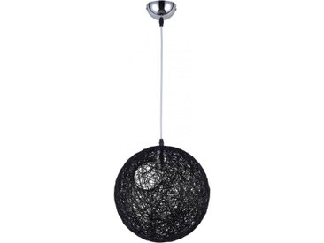 Lampe boule aléatoire Pot Bertjan Corde Noir
