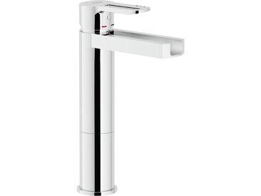 "Mitigeur lavabo haut cascade Nobili NEW ROAD RDC0158/2CR | Chromé - 1""1/4"
