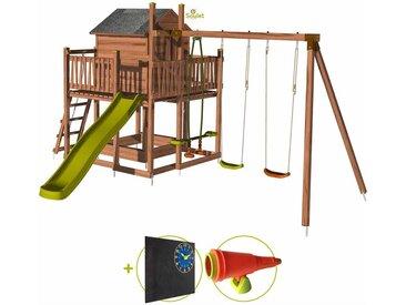 Soulet - Aire de jeux pour enfant maisonnette avec portique - COTTAGE Kit d'accessoire DECOUVERTE
