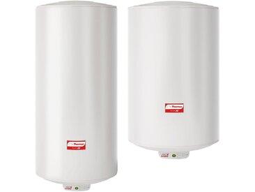 Chauffe eau électrique DURALIS ACI+ électronic - Monophasé - 100 l - Puissance 1200 W - Vertical mural étroit - Ø 505 mm - Haut. 910 mm*