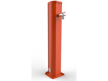 Fontaine orange pour le lavage des pieds cm 16,5x15,5x85 ARKEMA DESIGN - prodotto made in Italy CV-A685/2009