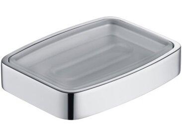 Porte-savon Keuco Elegance 11655, modèle de table, coupe en cristal véritable, chromé - 11655019001