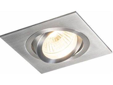 Spot encastrable en aluminium inclinable - Serrure 1 Qazqa Moderne Cage Lampe Luminaire interieur