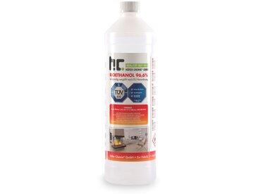 90 x 1 Litre Bioéthanol à 96,6% en bouteilles de 1 l