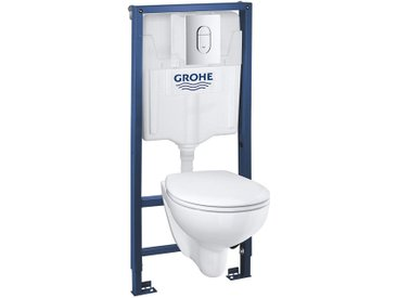 Set WC suspendu Rimless Grohe BAU Ceramic