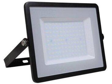 Projecteur LED extérieur 100 W 1x LED intégrée blanc lumière du jour V-TAC VT-100 168414 noir 1 pc(s)