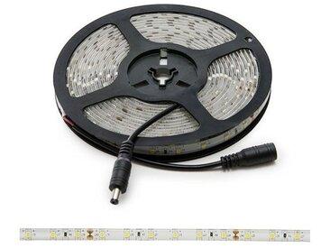 Bande de Led 300 LEDs 40W SMD2835 24VDC IP65 x 5M | Rouge (GR-RDT2835-60-24-IP65-CW)