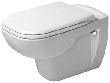 Pack WC suspendu Duravit D-Code 453509 - cuvette + abattant frein de chute