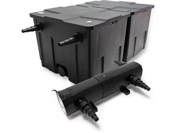 Kit SunSun de Filtration de Bassin Bio Filtre 60000l Stérilisateur UVC 24W