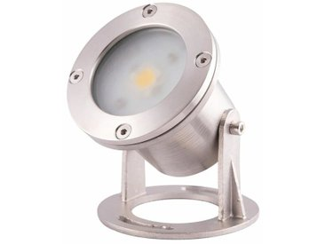 Spot Fontaine Immergeable Led Blanc Chaud Fontaine Inox 316 - 12v