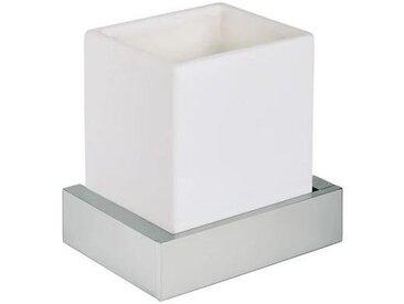 porte-brosse à dents mural en céramique blanche mate Pollini Acqua Design EBOX EB1401M9   Blanc mat