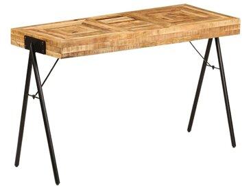 Topdeal Table à écrire Bois de manguier massif 118 x 50 x 75 cm