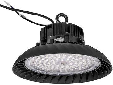 Anten 150W UFO Projecteur LED Dimmable Projecteur LED d'éclairage Industriel Suspension IP65 Phare de Travail Spot Lumière Éxtérieur et Indérieur Blanc Froid 5000K (Variateur non compris)