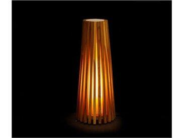 Lampe d'extérieur en teck 50cm BARCELOS - L 26 x l 26 x H 50