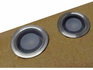 Kit 6 balises de spots Ø30x18.5 mm + câble raccordement + alimentation 0,65A | Blanc Chaud