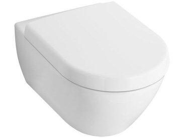 Villeroy & Boch Subway 2.0 armoire de toilette 5614R0 370x560mm, sans jante, Coloris: Céramique blanche plus - 5614R0R1