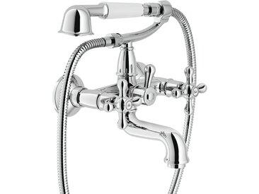 Mélangeur baignoire avec complet douche nobili grazia GRC5001 | Chromé