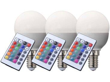 Ampoule LED E14 RVB de haute qualité avec télécommande