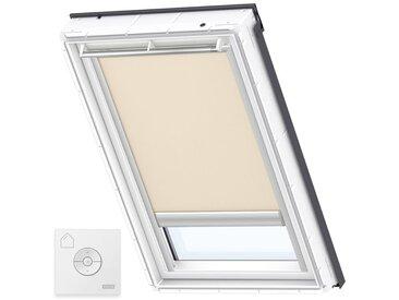 VELUX Original Store Occultant à Énergie Solaire pour Fenêtres de Toit VELUX, SK06, Cappucino - Cappucino