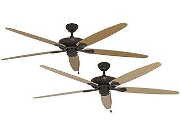 Ventilateur de plafond CLASSIC ROYAL - Ø hélice 1800 mm - érable / hêtre / brun ancien / bronze