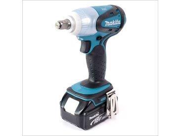 Makita DTW 251 RMJ Boulonneuse à chocs sans fil 230 Nm + Coffret de transport Makpac + 2x Batteries BL 1840 Akku 18 V 4 Ah + Chargeur rapide