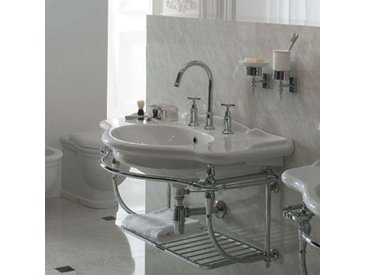 Ceramica Globo - Lavabo suspendu PAESTUM 90x56 cm, en céramique blanc brillant. (code PA056.BI)