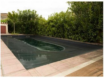 Filet de protection piscine 100g/m2 Werkapro 6 x 12 m