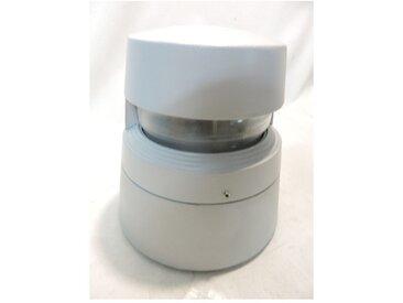 Borne extérieure alu grise Ø 238X232mm monodirectionnel lampe iodure 35W G12 (non incl) ballast IP67 ROK SIDE LIGHTING E8401