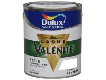 Laque Valénite glycéro effet satin 2L (noir) - Ton : Noir