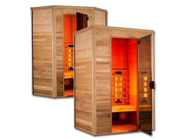Sauna Multiwave 3 places angulaire