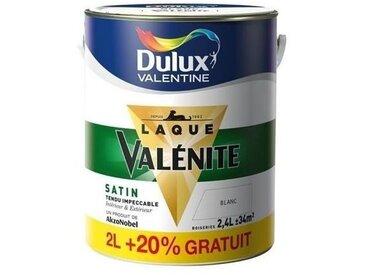 Laque Valénite glycéro effet satin 2L +20% blanc