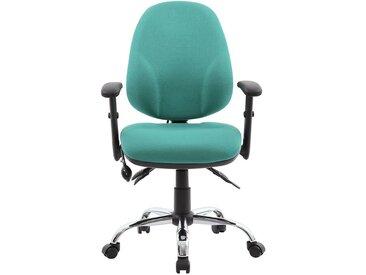 Chaise d'atelier pivotante Ergo Operator - ergonomique - Coloris: vert