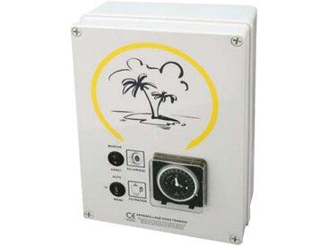 coffret electrique pour filtration + 1 projecteur 300w - detf 1 pd - wa conception