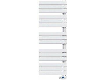 Radiateur sèche-serviettes VARIO électrique - Puissance : 500 W - H= 1190 mm - L=550 mm - BLANC