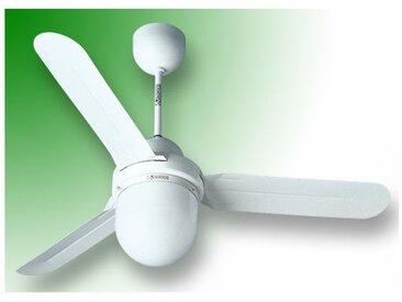 vortice ventilateur plafond nordik design is/l 120/48 blanc 61101