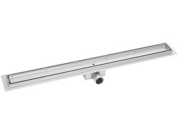 Caniveau de douche 90cm bp01 - Profile de Tuile - evacuation d eau - siphon de sol - acier inoxydable