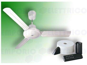 vortice kit ventilateur plafond nordik evolution r 160/60 blanc 61753 ev61753b